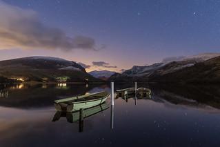 'Twilight Reflections' - Llyn Nantlle Uchaf, Snowdonia