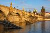 Karlův most v posledních paprscích slunce (Honzinus) Tags: praha prague prag karlův most cz czech čechy vltava