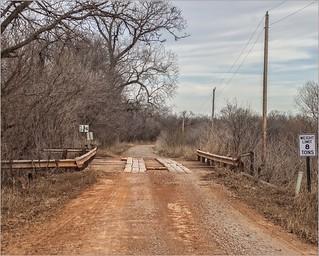 Okie Backroad Bridge has 8 Ton Limit