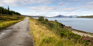 The old road on Skye