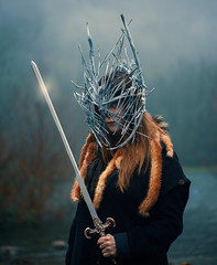 Winter is Coming (Kavan The Kid) Tags: kavan kid fine art photography photoforge portrait beautiful amazing magicial cinematic conceptual surreal surrealism strange self weird scary photograph photo photoshop sad dark evil sword knight game thrones