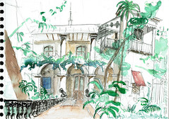 Pondichéry - Puducherry, India (Croctoo) Tags: croctoo croctoofr croquis crayon aquarelle watercolor magasin boutique india inde puducherry pondichéry
