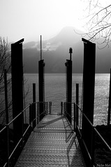 Light at the end of the path (Niclas Matt) Tags: bnw blackandwhite schwarzweiss sw art fineart contrast artphotography water message nikon nikonartist nikond90