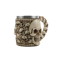 Skull Studded Coffee Mug (mywowstuff) Tags: gifts gadgets cool family friends funny shopping men women kids home