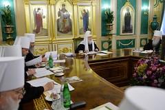 15. Заседание Священного Синода РПЦ 07.03.2018