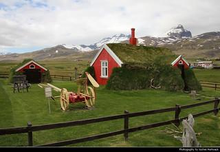 Lindarbakki Turf House, Borgarfjörður Eystri, Iceland
