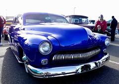 Merc FatBoy Custom (bballchico) Tags: merc mercury fatboy custom chopped louvers newyearscoolcarcruise carshow 1949
