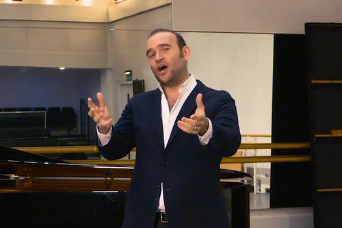 Watch: 'La donna è mobile' performed by Michael Fabiano