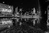 Rio de Janeiro à noite e chovendo (mariohowat) Tags: riodejaneiro fisheye samyang8mm noturnas longaexposição reflexos reflections reflejos monochrome pretoebranco bw pb blackandwhite blancoynegro brazil brasil canon
