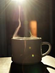 18/365 » Busy morning (V. Maradin) Tags: coffee coffeeshots mug light sunlight morning lensflare hot beverage nikon nikonphotography project365