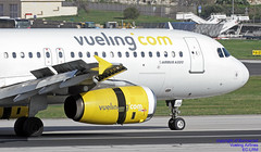 EC-LRM LMML 08-01-2018 (Burmarrad (Mark) Camenzuli Thank you for the 10.3) Tags: airline vueling airlines aircraft airbus a320232 registration eclrm cn 1349 lmml 08012018