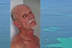 Kees # 22 Summer (just.Luc) Tags: man male homme hombre uomo mann mature portret portrait ritratto retrato face gezicht visage gesicht beard baard barba barbe bart goatee