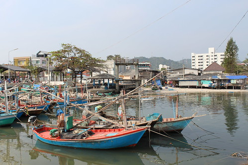 Fishing Village Hua Hin, Thailand