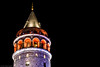 Tower (The Frustrated Photog (Anthony) ADPphotography) Tags: architecture category external galatatower istanbul longexposure nightscenes places travel turkey night darkness lightsatnight canon canon70d canon1585mm outdoor architecturephotography tower stone turkiye travelphotography colourful city sky building structure