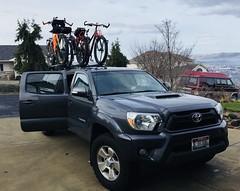Julieta, Southwick, Kendrick loop ride (Doug Goodenough) Tags: bicycle bike cycle pedals spokes trek 1120 surly ecr 29 plus january 2018 jan 18 gravel drg531 drg53118 drg53118p toyota tacoma trd rig