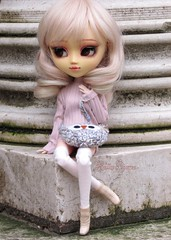 My Precious Lady ♥ (Little Queen Gaou) Tags: doll groove pullip full custo garden jardin parc paris city ville winter hiver photography photographie fashion mode artist