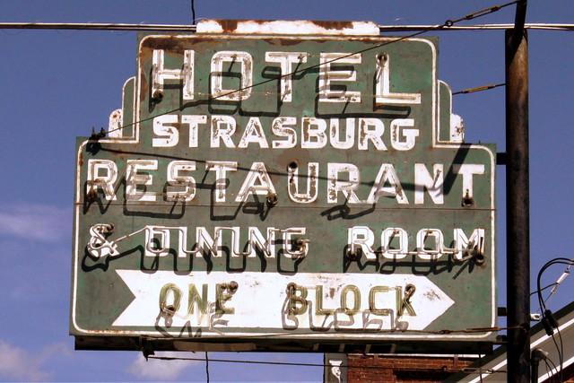 Hotel Strasburg neon sign - Strasburg, VA