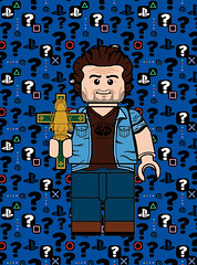 Sam Drake (Ashnflash98) Tags: lego cmf cmfseries uncharted sam drake minifigure ashnflash