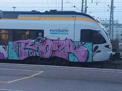 ROI . OZR (mkorsakov) Tags: dortmund hbf bahnhof mainstation train zug graffiti bunt colored rb50 derlünener