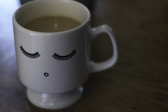 A gift from my MIL... {Explored 88} (Jeananne Martin) Tags: mug cup gift coconut fresh lashes