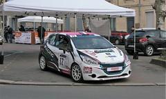 #17 -Peugeot 208 - 01 (kinsarvik) Tags: castillonlabataille gironde bordeauxaquitaineclassic rallye rally