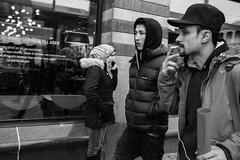 In passing (Bomanson) Tags: street streetphoto blackandwhite bw monochrome gothenburg sweden