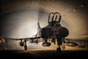 HAS resident (Nimbus20) Tags: raf has phantom hangar smoke f4 mcdd plane jet bomber interceptor tle suffolk