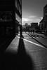 Winter shadows (Black&Light Streetphotographie) Tags: mono monochrome dof trier tiefenschärfe wow urban fullframe vollformat cigy sony streets streetshots shadows schatten