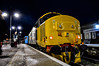 37407 + 37425 - Great Yarmouth - 23/02/18. (TRphotography04) Tags: newly refurbished br large logo direct rail services 37407 drs 37425 sir robert mcalpine concrete bob stand great yarmouth after working 2p32 1736 norwich