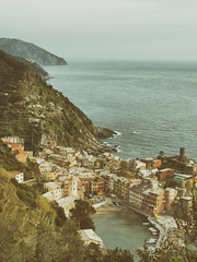 vernazzareth (vanillebourbongivree) Tags: sea port italy retro coast europe landscape