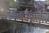 Young woman in furisode kimono standing on old wooden bridge (Apricot Cafe) Tags: img76875 asia asianandindianethnicities canonef70200mmf28lisiiusm healthylifestyle japan japaneseethnicity japaneseculture katoricity kimono sawarakatori bridgebuiltstructure buildingexterior candid carefree celebration ceremony charming chibaprefecture colorimage cultures edoperiod formalwear fulllength furisode grace hairstyle happiness lensflare lifestyles morning oneperson onlyjapanese onoriverchibaprefecture outdoors people photography realpeople relaxation river seijinnohi smiling standing sunlight sustainablelifestyle toothysmile tradition traditionalclothing traveldestinations women youngadult katorishi chibaken jp