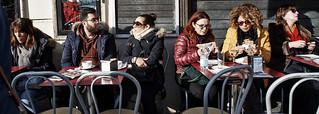 Cafe society.