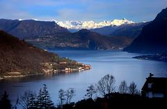 Lake Iseo (annalisabianchetti) Tags: lakeiseo lagodiiseo panorama travel mountains montagne lake lago paesaggio landscape italy beauty