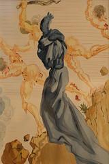 Salvador Dalì (Salvador Domènec Felip Jacint Dalí i Domènech 1904-1989) - i seduttori - La Divina Commedia (acquarello 1950-1954) - Historian Gallery - Gavirate (Varese) (raffaele pagani (away for a while)) Tags: salvadordalì salvadordomènecfelipjacintdalíidomènech ladivinacommedia dantealighieri virgilio virgil labibbia thebible mostra exhibition acquarello watercolor serigrafia screenprinting oltronaallago gavirate provinciadivarese canon