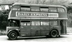"Post 1960s – ""ex London Transport""  AEC RT bus. (RTW501) Tags: roofboxrt rt2body capetown thecitytramwayscoltd regent aec"
