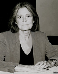 Gloria Steinem (Thom Sheridan) Tags: thomsheridan sunnews cleveland old vintage film 1999