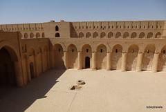 Ukhaidir Fortress (6).jpg (tobeytravels) Tags: iraq alukhaidir abbasid umayyad palace isaibnmusa gertrudebell unesco pishtaq bayts