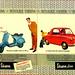 Vespa Scooter & Vespa 400 (1960)
