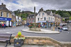 Melrose town centre, Scotland (Baz Richardson) Tags: scotland scottishborders melrose smalltowns streetscenes towncentres