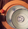 (frscspd) Tags: img0267 myoffice robertschinesebowls chinese porcelain blueporcelain circles apple wooden wood tray
