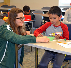 College of DuPage Engineering Club Hosts STEM Learning Event for Homeschoolers 2018 14 (COD Newsroom) Tags: collegeofduipage cod engineering engineeringclub homeschool stem science technology math campus glenellyn illinois il berginstructionalcenter college communitycollege education highereducation biotechnology chemicalengineering computerscience robotics computer dupage dupagecounty