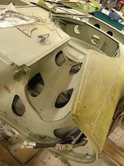 Me109 G2  WrkNr 14055  NI + BY (flyhistorie) Tags: switch wiring system me109 bf109 messerschmitt sola flymuseum jærmuseet luftwaffe jg5 restoration original interiør cable wing ving detail