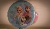 The Frozen theme balloon. (kuntheaprum) Tags: caitlin birthday nikon d750 samyang 85mm f14 baby family portrait frozen