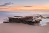 Stillness (John_Armytage) Tags: warriewood warriewoodbeach beach longexposure nisifilters nsw australia northernbeaches nikond850 nikkor2470f28 nikon johnarmytage rock textures sand surf wave sunrise seascape