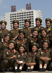 North Korean soldiers women posing for a photo souvenir, Pyongan Province, Pyongyang, North Korea (Eric Lafforgue) Tags: 2024years armedforces army asia asianethnicity authority beautifulpeople beauty candid communism day dictatorship dprk eti6320 fulllenght groupofpeople koreanculture military northkorea northkorean politicsandgovernment portrait pyongyang soldiers uniform vertical pyonganprovince 北朝鮮 북한 朝鮮民主主義人民共和国 조선 coreadelnorte coréedunord coréiadonorte coreiadonorte 조선민주주의인민공화국 เกาหลีเหนือ קוריאההצפונית koreapółnocna koreautara kuzeykore nordkorea північнакорея севернакореја севернакорея severníkorea βόρειακορέα
