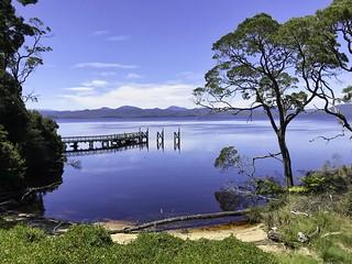 Sarah Island, Macquarie Harbour, Tasmania