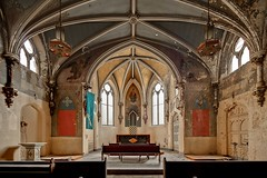 Gothic Chapel (earthmagnified) Tags: church chapel gothic altar nave choir abandoned decay empty vacant lost forgotten