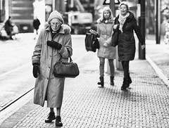 Sometimes life is hard and cold (zilverbat.) Tags: city citylife denhaag dutch innercity people peopleinthecity straatfotografie streetcandid streetphotography thehague thenetherlands urban zilverbat straatfotograaf blackandwhite mono noir blanco zwartwitfotografie bw bokeh dof oldwoman peopleinthestreet streetlife old grandma lady life social magnum