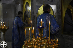 Всенощное бдение в канун праздника Сретения Господня