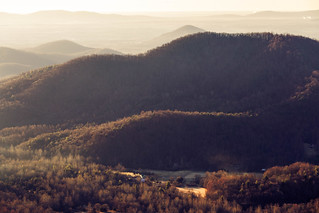 Morning Light and County Line Mountain